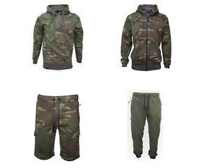 ESP Clothing Range Camo Hoody Shorts Green Carp Fishing Clothing Pants
