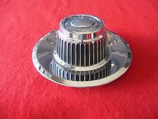 GM CHEVY CORVETTE Custom Ralley Wheel Center Cap Chrome Finish 71-1012NL  NEW