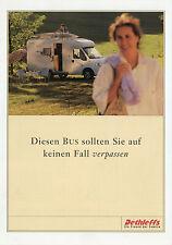 Prospectus Dethleffs Bus Moteur Caravane 2006 brochure voyage portable Camping-car motorhom