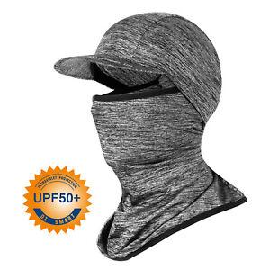 Balaclava Mask Summer  UPF 50+ UV Protection Cooling Cycling Bandana with Brim