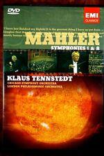Mahler - Symphonies 1 & 8, Klaus Tennstedt   - DVD, As New