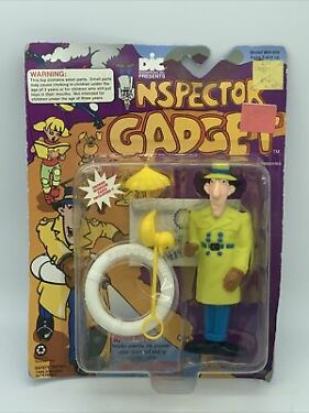 Inspector Gadget by Tiger  Go Go Gadget Water Pistol Squirting Action NIP