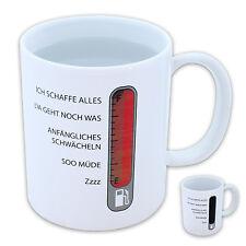 TASSE Kaffeetasse Teetasse Dekotasse Sammlertasse Kaffeepott Stimmungs-BAROMETER