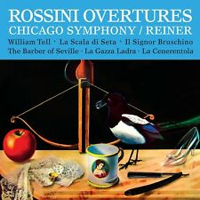 REINER/CHICAGO SO - OUVERTURES  CD NEW! ROSSINI,GIOACCHINO