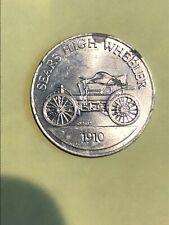 Sears High Wheeler 1910 Antique Car Series 1 Commemorative Coin Token Sunoco DX
