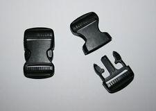 20mm Black Plastic Side Release Buckle