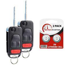 2 For 1995 1996 1997 Mercedes Benz SL 320 Keyless Remote Fob Car Flip Key
