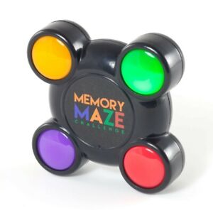 Memory Maze Sequence Challenge - Mini Kids Simon Says Copying Remembering Game