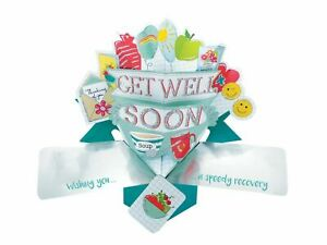 Get Well 3D Pop Up Card Second Nature Caring Friend Family Speedy Recovery