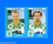 FOOTBALL 2000 BELGIO Panini-Figurina -Sticker n. 451 - LA LOUVIERE -New