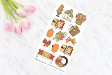 Falling Leaves Decorative Planner Stickers for all Planner Types Erin Condren