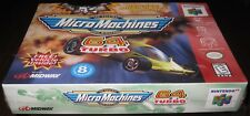 Micro Machines 64 Turbo (Nintendo 64, 1999) Brand NEW!