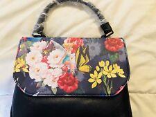 Disney Loungefly Tinker Bell Floral Crossbody Bag Satchel Purse NWT