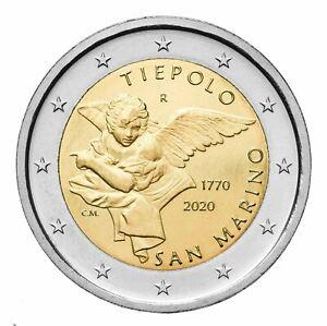 San Marino 2 euro 2020 Tiepolo BU (#7146)