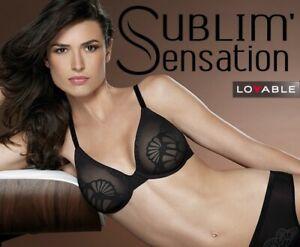 Reggiseno con Ferretto Donna LOVABLE L027I SUBLIM SENSATION Grigio, Skin, Nero