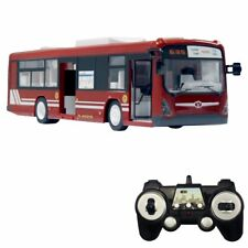 RC City Bus Remote Control Vehicles 6 Ch 2.4G Electronic Hobby Toy (Red)