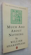 WILLIAM SHAKESPEARE MUCH ADO ABOUT NOTHING S/B 1996 PENGUIN SHAKESPEARE UNREAD