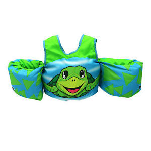 NWT Body Glove Kids' Paddle Pals ~ U.S. Coast Guard Approved for 30-50lbs Turtle