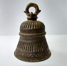 Ancienne cloche de cérémonie temple Orissa Inde 19e