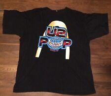 Rare U2 Vintage World Tour Concert Tour T Shirt 1997 Pop Mart Xxl Large Print !