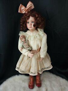 Pamela Phillips Yesterday's Dreams Sophie & Her Bru Porcelain Doll Dolls