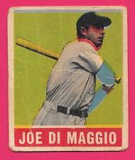 COLOR SHIFT PRINTER's ERROR ⚾ 1948 LEAF CARD #1 JOE DiMAGGIO GENUINE VINTAGE *MK