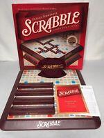 HASBRO 2001 SCRABBLE DELUXE TURNTABLE EDITION BOARD GAME COMPLETE VGC!