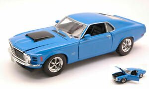 Model Car Scale 1:24 diecast vehicles road Ford MUSTANG Boss 429
