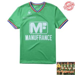 Maillot AS Saint Etienne ASSE 1976 Le Coq Sportif Football Vintage rétro neuf
