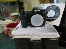 PENTAX K-5 16.3MP Digital SLR Camera Body W/Box and all accessories