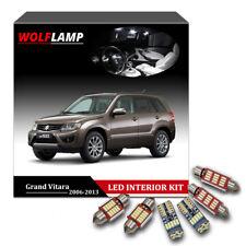 12Pcs White Bulbs LED Interior Kit Car Lights For 2006-2013 Suzuki Grand Vitara