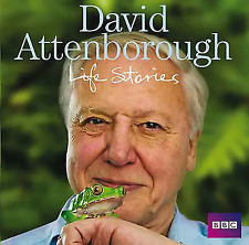 DAVID ATTENBOROUGH - LIFE STORIES 3 CD'S - BBC  AUDIO BOOK - NEW/SEALED