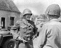 WW2 WWII Photo US Army General George Patton World War Two / 1711