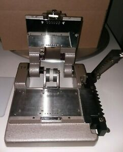 VINTAGE 90'S IMAX 15/70mm or use for 70mm RARE FILM SPLICER - (needs new handle)
