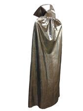 "Luchador Adult Size 54"" Metallic Halloween Costume Cape - SILVER"
