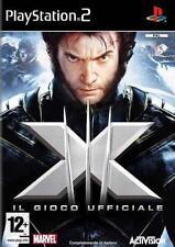 X-MEN XMEN IL GIOCO UFFICIALE   PS2 USATO