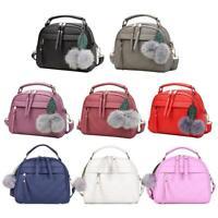 Women Casual Messenger Handbag Shoulder Bag Crossbody Leather Satchel Sling Bags