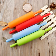 1PCS Kitchen Silicone Non Stick Rolling Pin Baking Pastry Tool Dough Rolling Pin