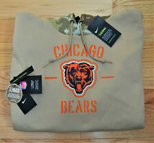 2019 CHICAGO BEARS Salute to Service Hoodie Nike - 2XL - 100% AUTHENTIC