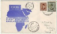 1931 Luqsor Egypt to England First Flight Cover via Imperial Airways FFC