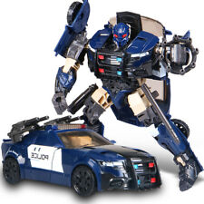 "Kid Gift Toy Robot Movie 5 The Last Knight Barricade 7"" Action Figure Police Car"