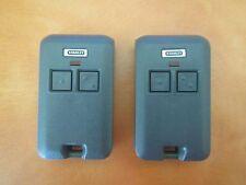 2 Stanley Garage Door Opener mini secure code remotes 370-3352 & 49664 49477 310
