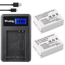 2* NB-10L Battery + charger For Canon G1X G15 G16 SX40HS SX50HS SX60HS SX40 SX50