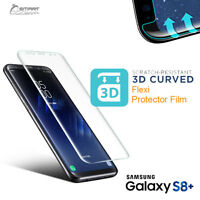 3D Curved Soft Full Screen Protector Guard Film for Samsung Galaxy Note 8 S8