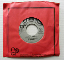 DAVY JONES 45 I Really Love You / Sitting in a apple tree BELL Monkees VG++ #988