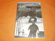 paolo crepet solitudini feltrinelli 1999