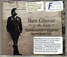 (K171) Ben Glover & The Earls, Things Haven't St- DJ CD