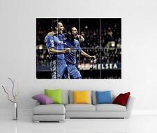 Frank Silva & John Terry Chelsea leyendas Gigante Pared Arte Impresión Foto Poster