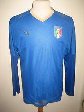 Italy puma Italia home football shirt soccer jersey trikot maglia calcio size M
