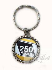 YAMAHA DT 250 DT250  MOTORCYCLE keychain keyfob  metal